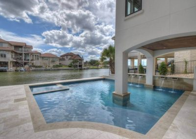 Applehead-Waterfront-Transitional-Lakeside-Pool-b…ome-Builders