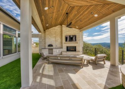 Zbranek-and-Holt-Custom-Homes-Outdoor-Cabana-Pizza-Oven-Stone-Frieplace