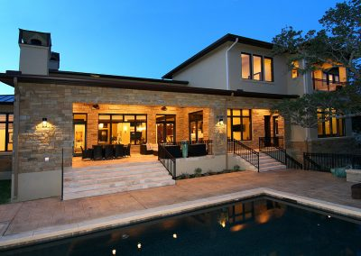 12-Hill-Country-Contemporary-Rear-Elevation-by-Zbranek-and-Holt-Custom-Homes-Austin-Luxury-Custom-Home-Builders