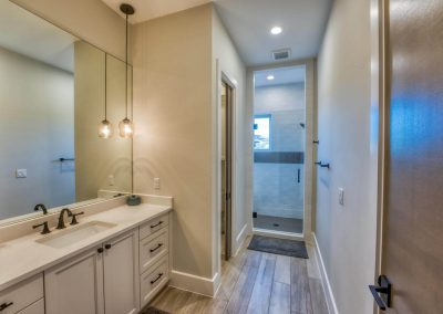 Zbranek-and-Holt-Custom-Homes-Guest-Bathroom-Glass-Shower-Door