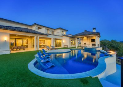Zbranek-and-Holt-Custom-Homes-Pool-Sunset
