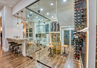 Zbranek-and-Holt-Custom-Homes-Wine-Room-Bar-Sunset