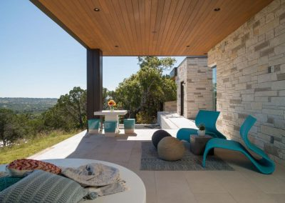 Exterior Patio Hill Country Contemporary – Casa Tre Cortili by-zbranek-and-holt-custom-homes-luxury-home-builders-austin