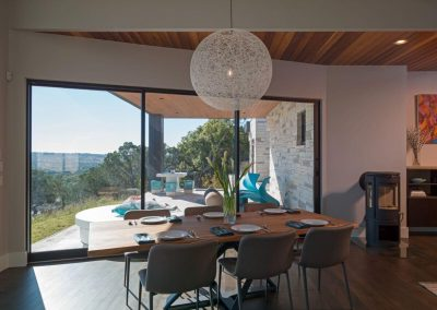 Interior Dining Hill Country Contemporary – Casa Tre Cortili by-zbranek-and-holt-custom-homes-luxury-home-builders-austin