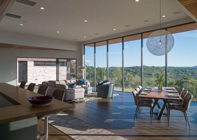 Interior Dining + Living Hill Country Contemporary – Casa Tre Cortili by-zbranek-and-holt-custom-homes-luxury-home-builders-austin